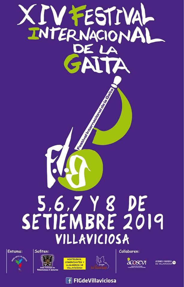 XIV Festival Internacional de la Gaita FIG @ Villaviciosa, Asturias | Villaviciosa | Principado de Asturias | España