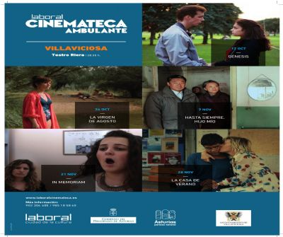 Laboral Cinemateca Ambulante en el Teatro Riera