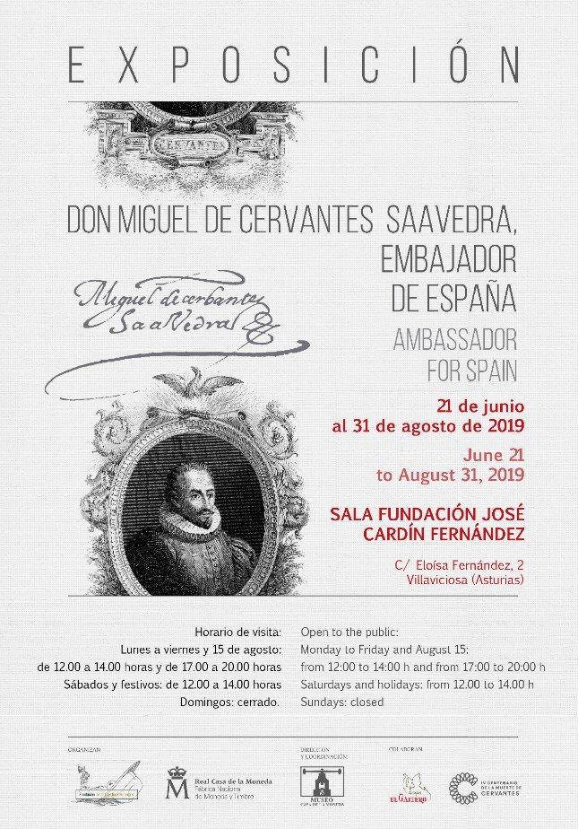 Exposición: Don Miguel de Cervantes