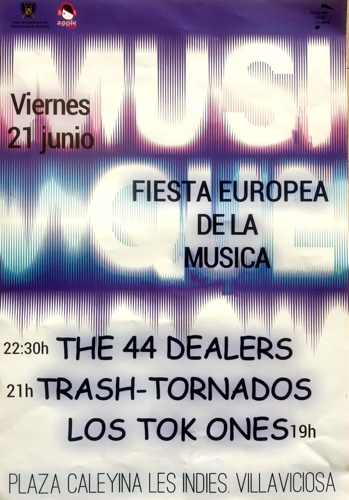 Fiesta Europea de la Música @ Plaza Caleyina les Indies | Villaviciosa | Principado de Asturias | España
