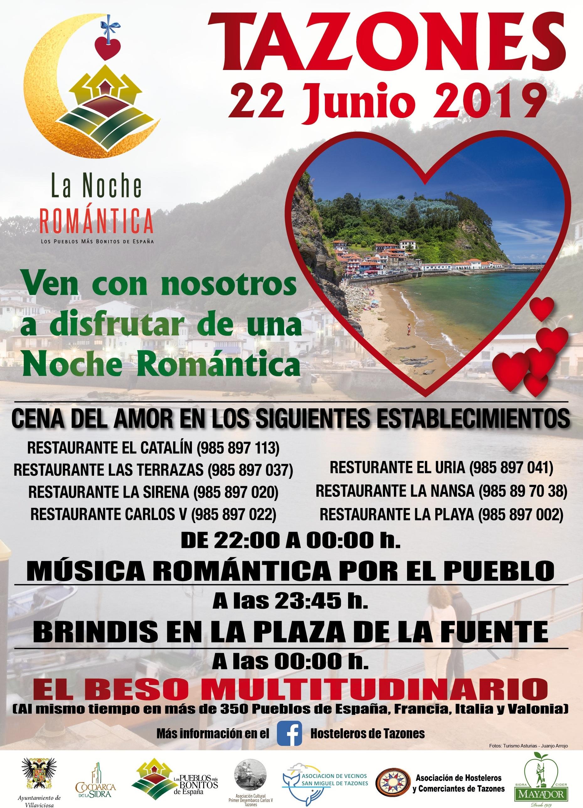 La Noche Romántica Tazones @ Tazones, Asturias | Principado de Asturias | España